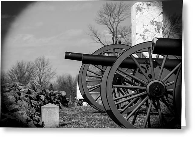 The Cannons Of Gettysburg Greeting Card