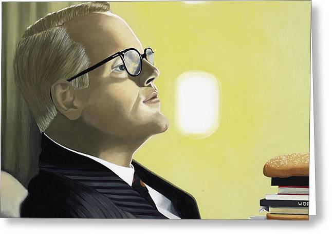 The Capote Burger Greeting Card