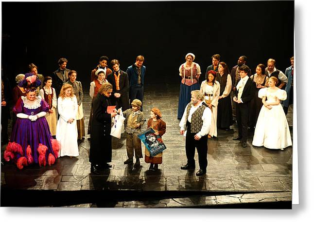 The Cast Of Les Miserables Greeting Card