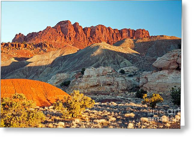 The Castle Capitol Reef National Park Greeting Card
