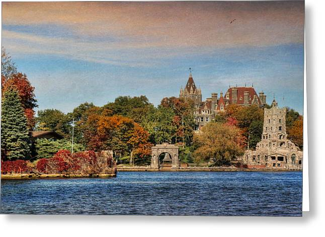 The Castle Of Love Greeting Card by Lori Deiter