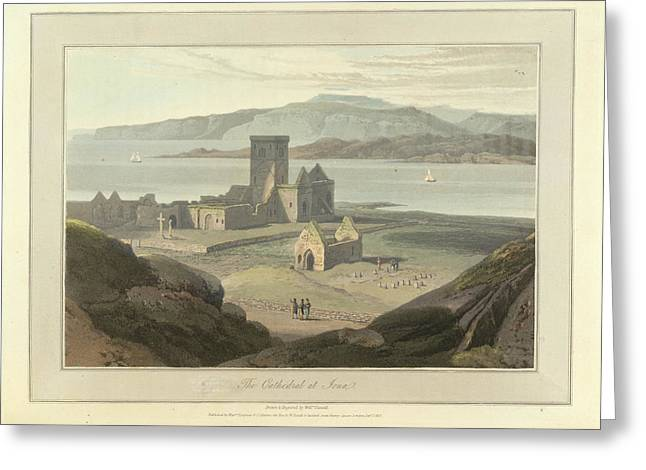 The Cathedral At Iona Greeting Card
