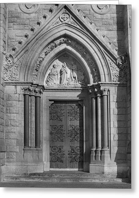 The Cathedral Door Greeting Card