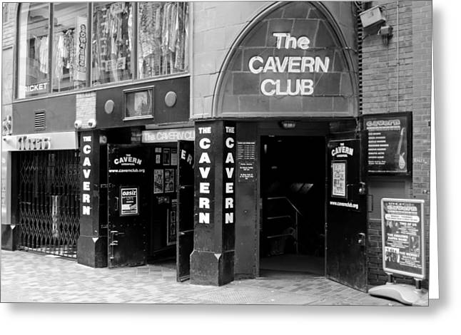 The Famous Cavern Club Entrance Liverpool Greeting Card by Norman Pogson