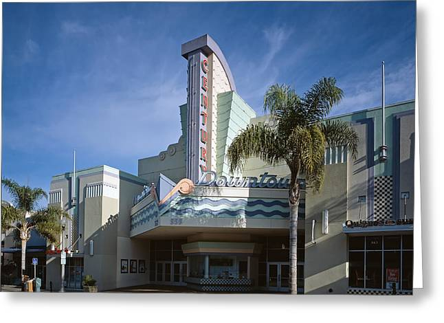 The Century Theatre In Ventura Greeting Card