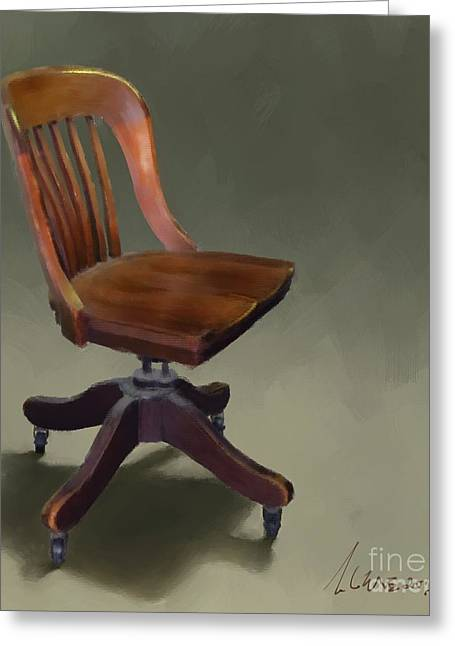 The Chair Greeting Card