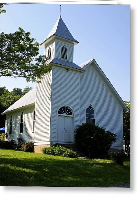 The Chapel Greeting Card by Jamie McBride