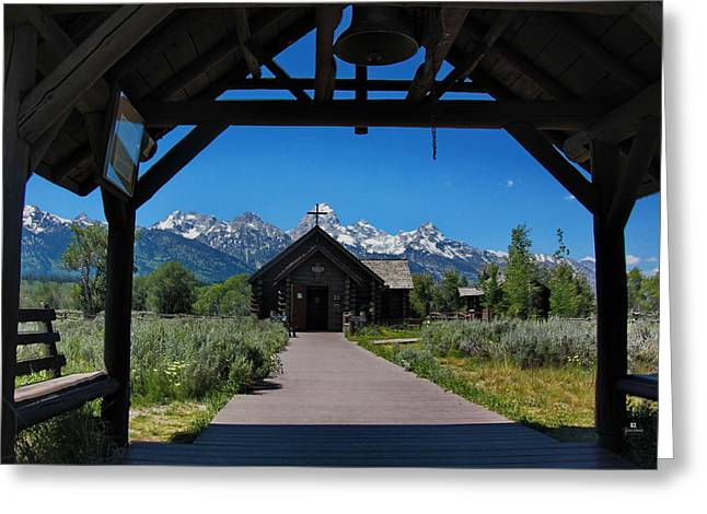 The Chapel Of The Transfiguration Greeting Card by Russ Harris