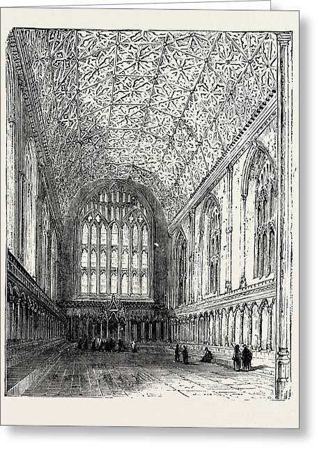 The Chapter House Canterbury Cathedral Greeting Card