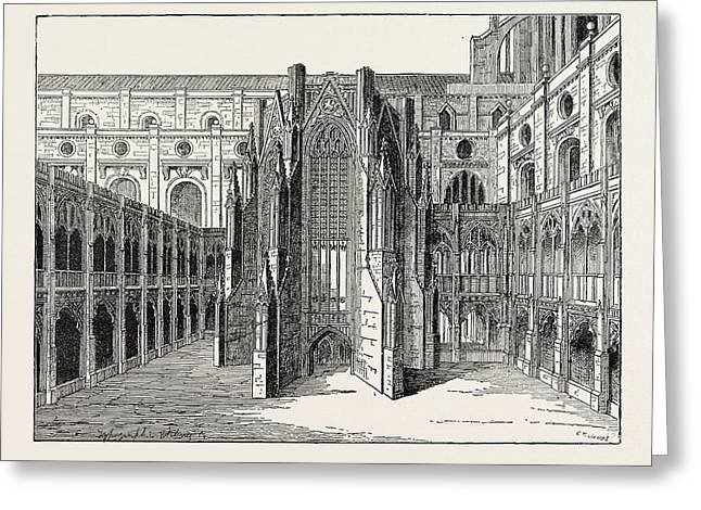 The Chapter House Of Old St Greeting Card
