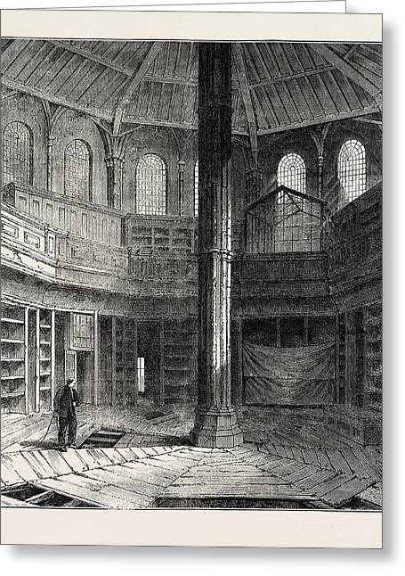 The Chapter House Previous To Its Restoration Greeting Card