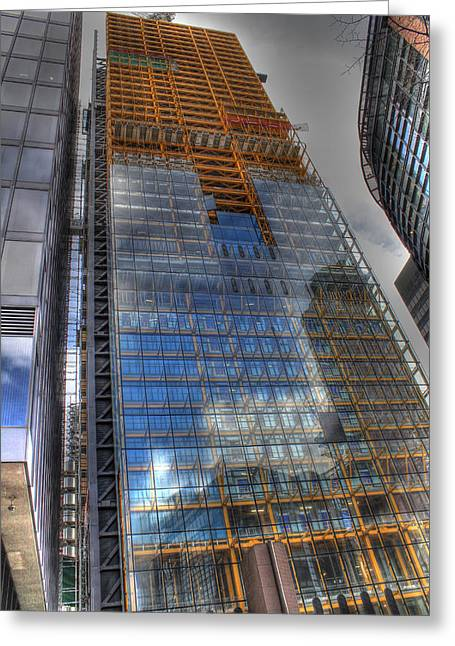 The Cheesegrater Greeting Card by Ash Sharesomephotos