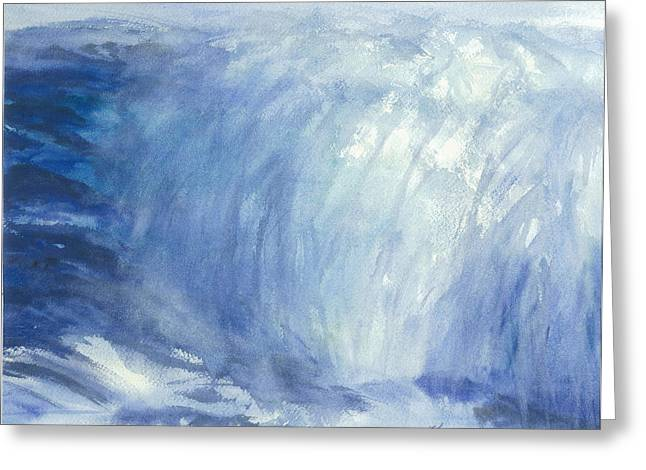 The Chill Of The Winters Sea Greeting Card by Karen  Condron