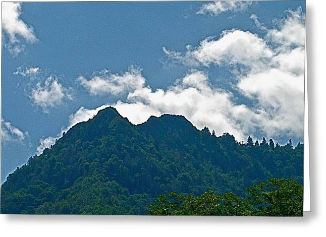 The Chimney Tops Greeting Card