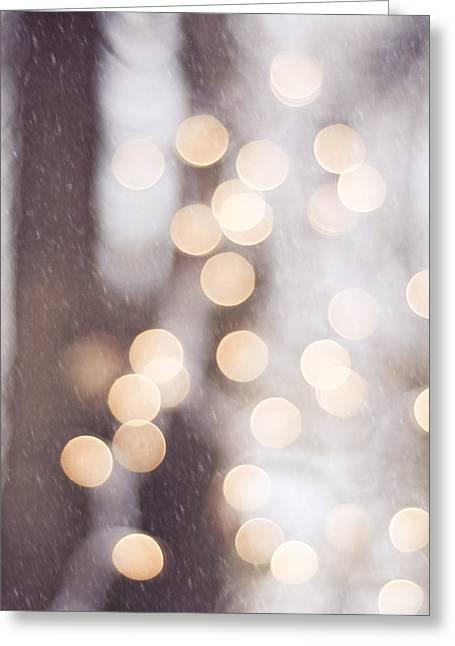 The Christmas Spirit Greeting Card by Carolyn Cochrane