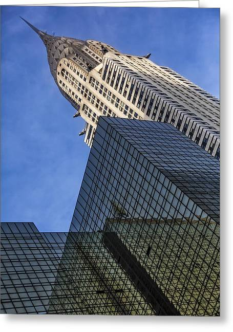The Chrysler Building Greeting Card by Susan Candelario