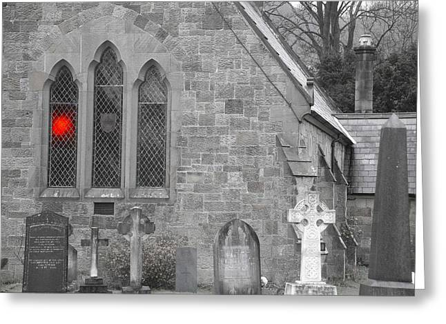 Greeting Card featuring the photograph The Church 2 by Christopher Rowlands