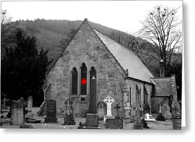 Greeting Card featuring the photograph The Church by Christopher Rowlands
