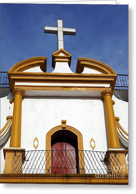 The Church Of Guadalupe 3 Greeting Card