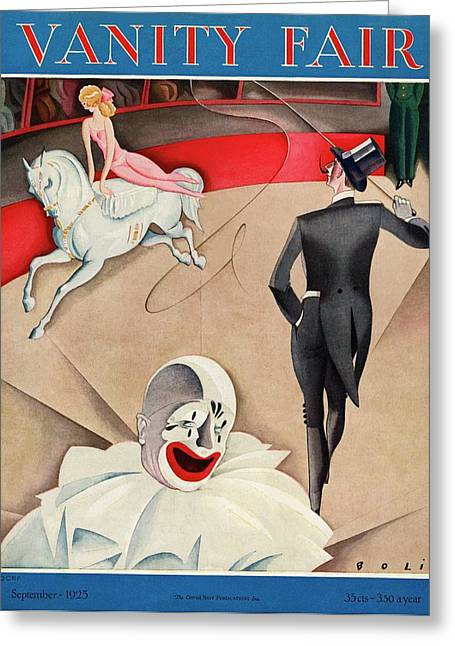 The Circus Greeting Card by William Bolin