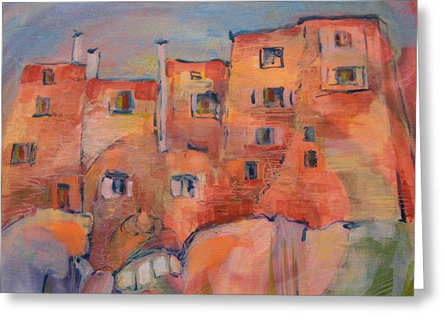 The City Walls Watch Greeting Card