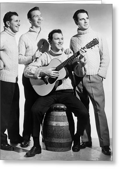 The Clancy Brothers, 1962 Greeting Card by Granger