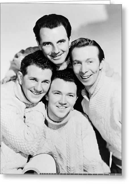 The Clancy Brothers, 1965 Greeting Card by Granger