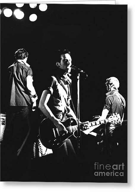 The Clash 1979 Greeting Card