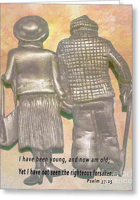 The Classic Couple Greeting Card by Beverly Guilliams