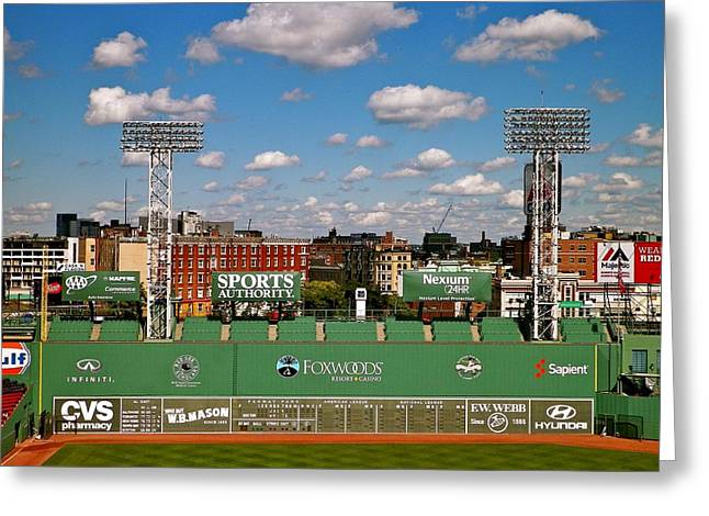 The Classic II Fenway Park Collection  Greeting Card