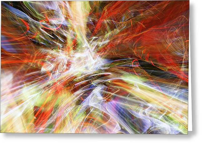 Greeting Card featuring the digital art The Cleansing by Margie Chapman