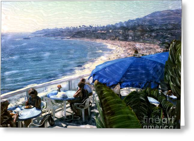 The Cliff Laguna Beach Greeting Card
