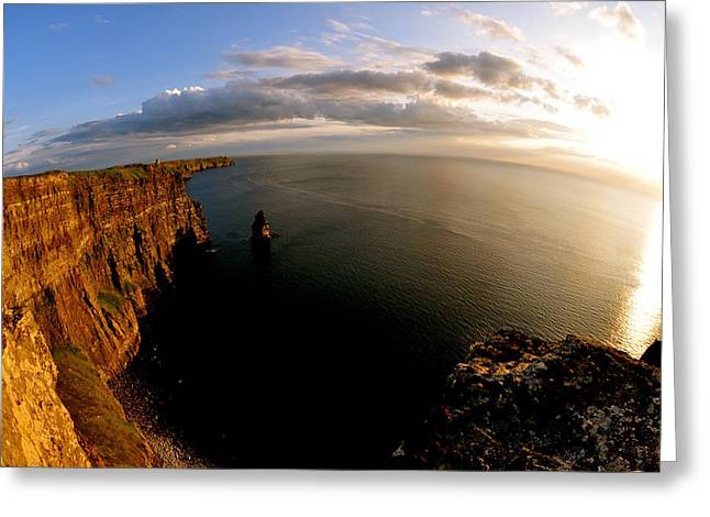 The Cliffs Greeting Card