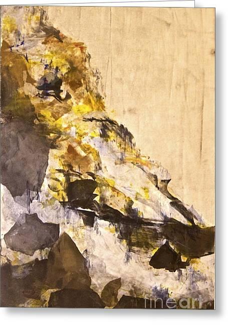 The Climb Greeting Card by Deborah Talbot - Kostisin