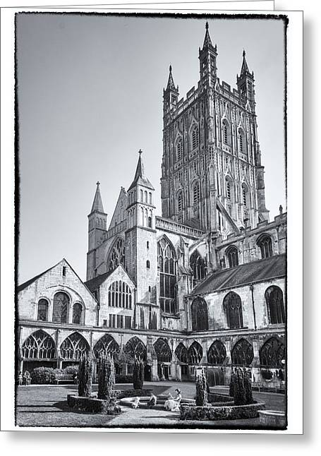 Greeting Card featuring the photograph The Cloisters by Stewart Scott