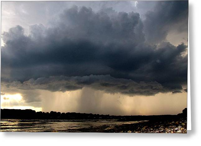 The Cloud Greeting Card by Donnie Freeman