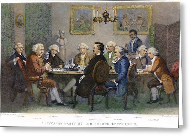 The Club, 1851 Greeting Card by Granger