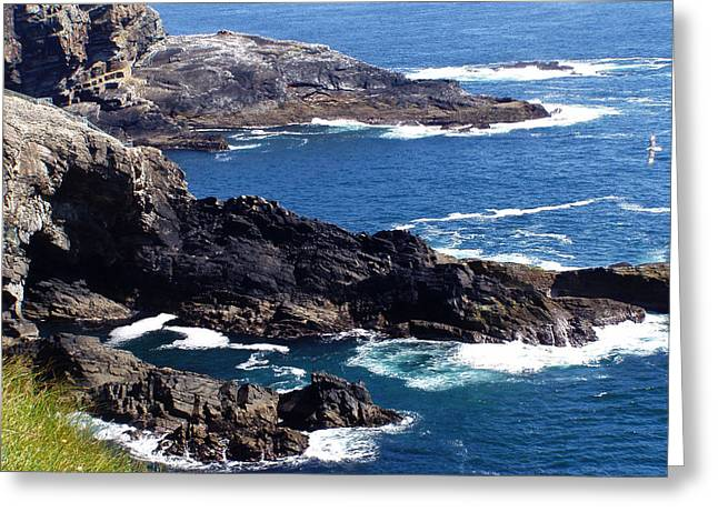 The Coast At Mizen Head Greeting Card