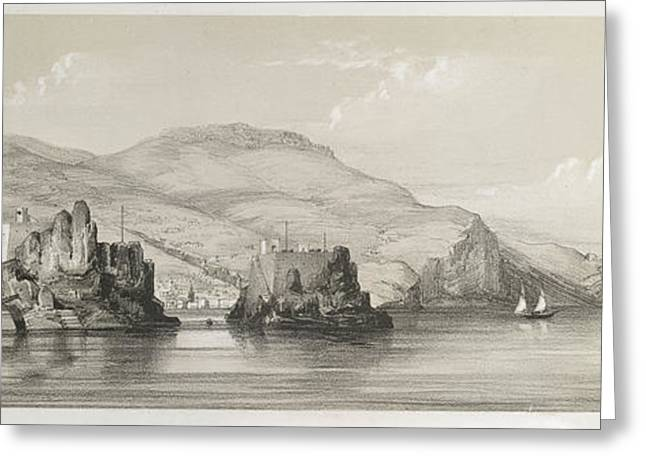 The Coast Of Madeira Greeting Card by British Library