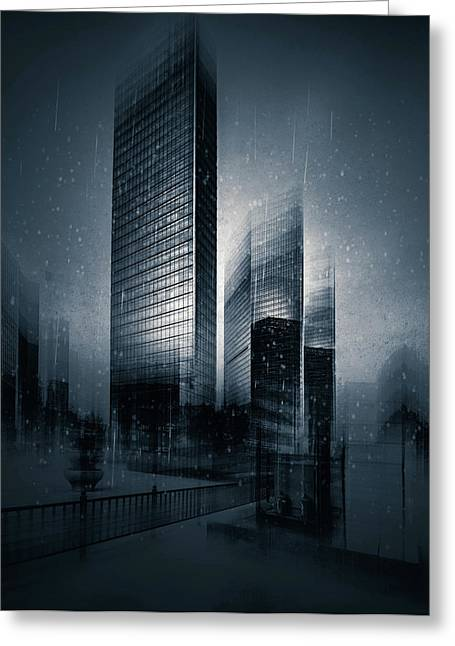 The Coldest City Greeting Card