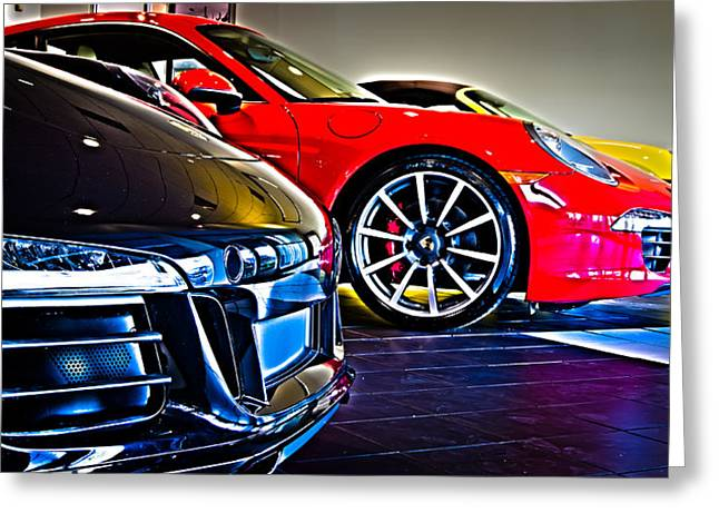 The Color Of Porsche Greeting Card