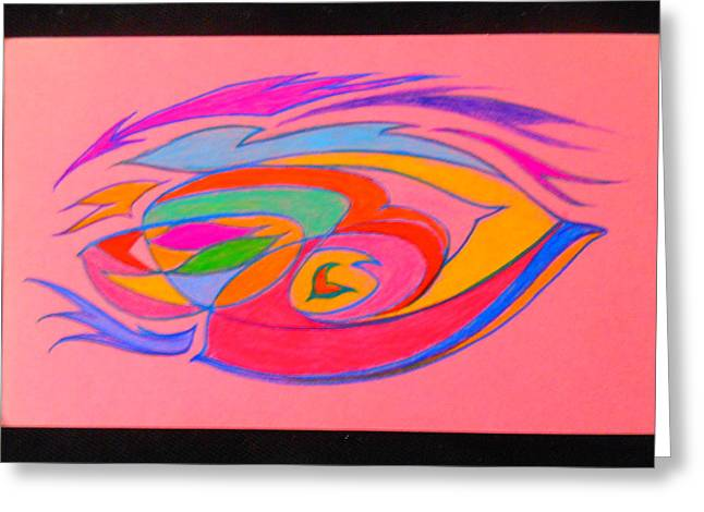 The Color Of Speed Greeting Card by James Welch