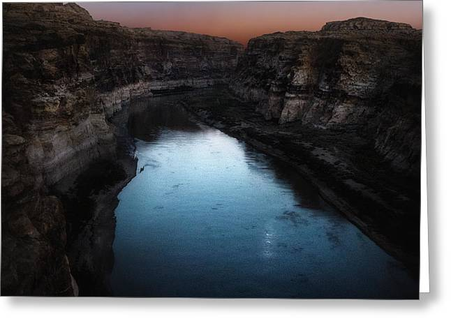 The Colorado River A Hite Crossing  Greeting Card