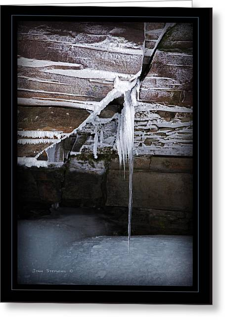 The Colors Of Cold Greeting Card by John Stephens
