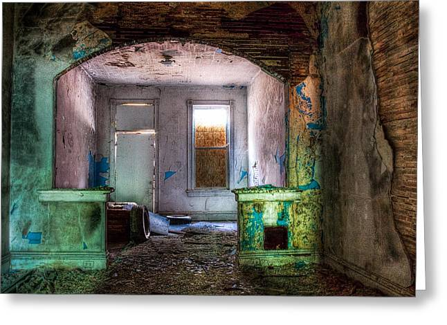 The Colors Of Decay Greeting Card