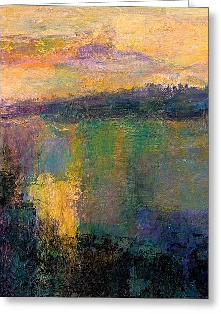 The Colors Of Hope - Art By Jim Whalen Greeting Card