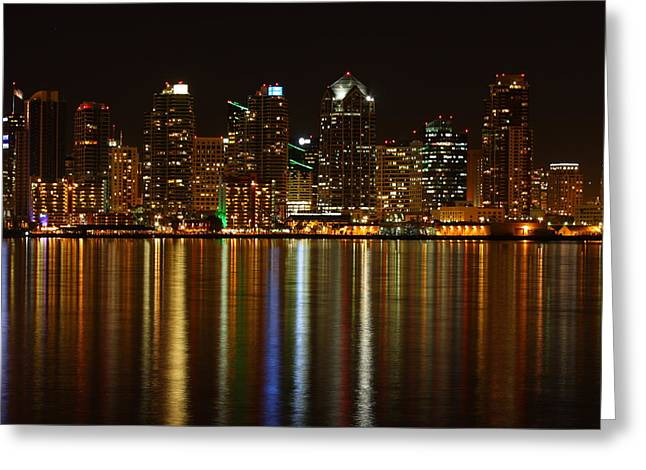 Greeting Card featuring the photograph The Colors Of San Diego by Nathan Rupert