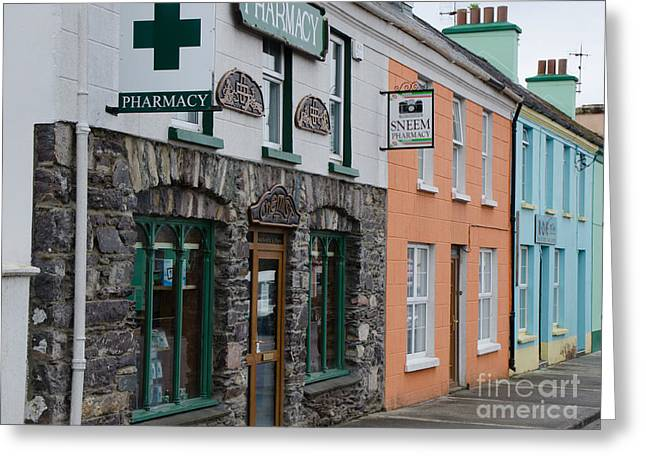 The Colors Of Sneem Greeting Card by Mary Carol Story