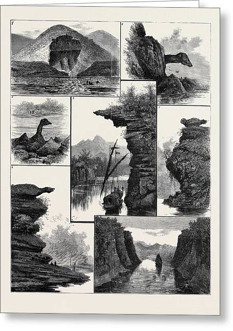The Colquhoun Expedition Through Southern China Greeting Card by Chinese School