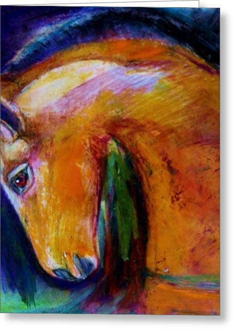 The Colt Greeting Card by Jean Cormier